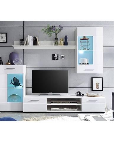 Henri New OS obývacia stena biela