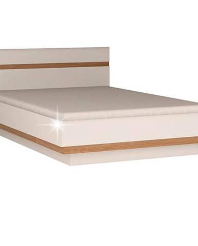 Lynatet 93 180 manželská posteľ biela