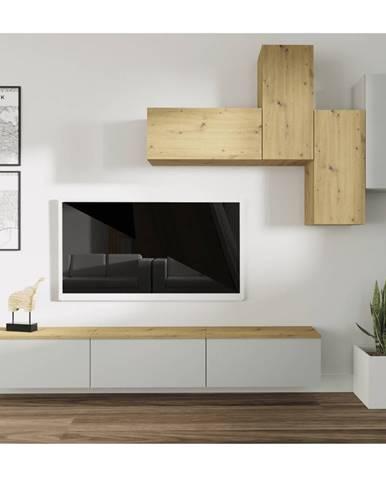 Oten obývacia stena svetlosivá