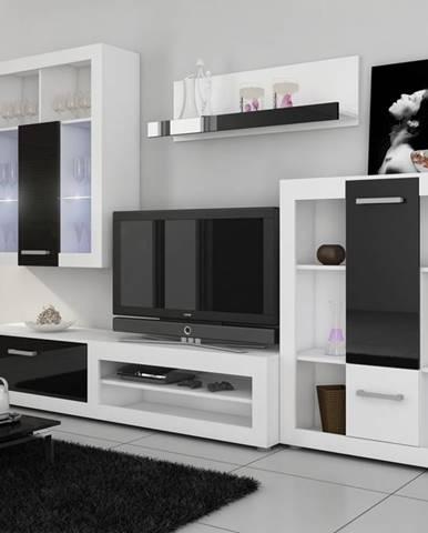 Viki obývacia stena biela