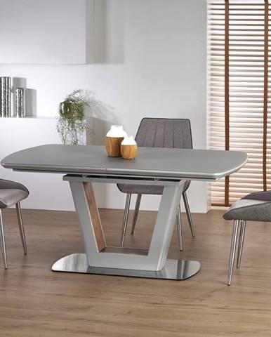 Bilotti rozkladací jedálenský stôl svetlosivá