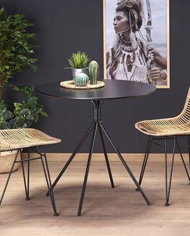Fondi okrúhly jedálenský stôl čierna