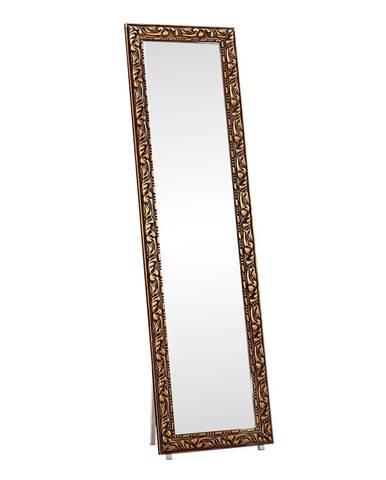 Pantos stojace zrkadlo hnedá