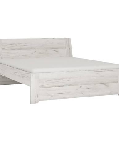 Angel Typ 92 160 manželská posteľ biela