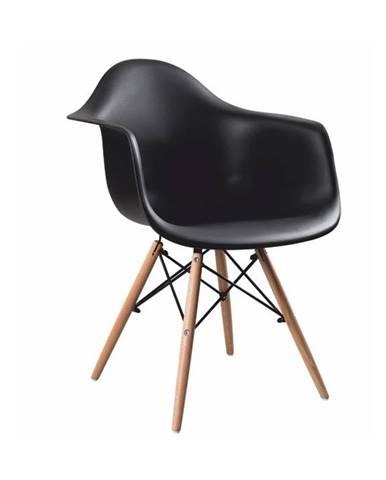 Damen New jedálenská stolička čierna