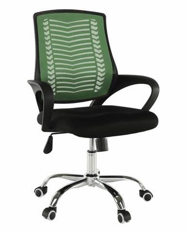 Imela Typ 2 kancelárske kreslo s podrúčkami zelená