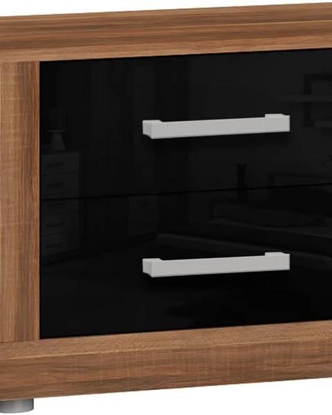 MEBLOCROSS Viki VIK-14 nočný stolík slivka