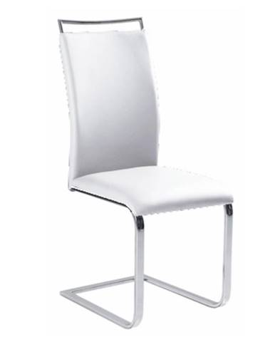 Barna New jedálenská stolička biela
