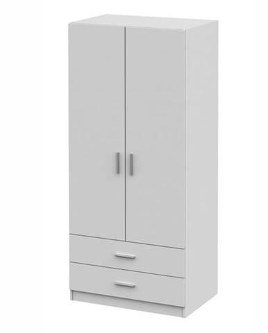 Invita Typ 5 2D policová skriňa biela