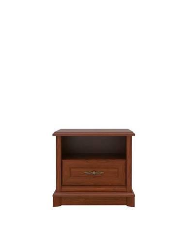 Kent EKOM1S rustikálny nočný stolík gaštan
