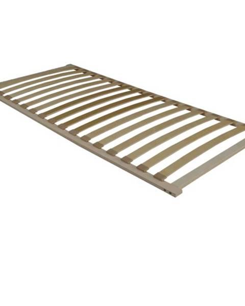 Kondela Flex 3-zónový lamelový rošt 80x200 cm brezové drevo