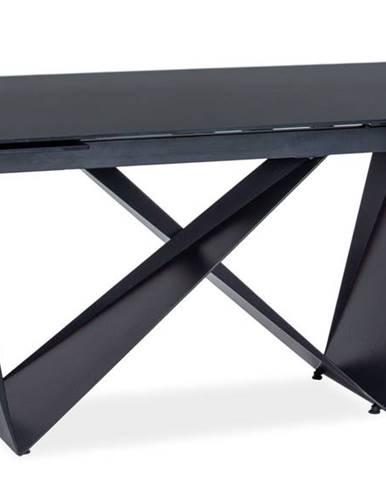 Cavalli I rozkladací jedálenský stôl čierna matná
