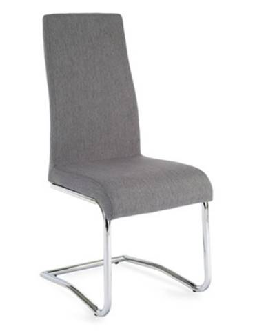 Amina jedálenská stolička svetlosivá