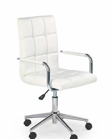 Gonzo 2 kancelárske kreslo s podrúčkami biela