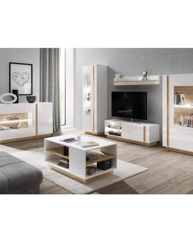 City obývacia izba biela