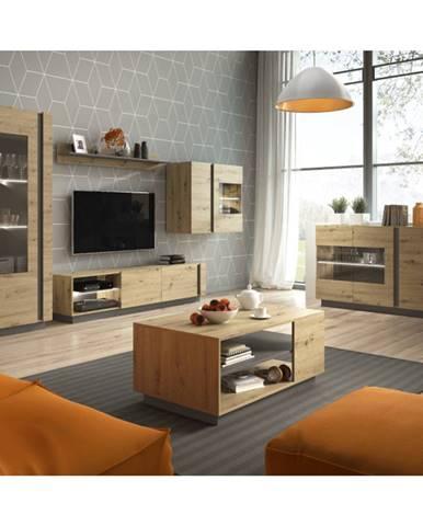 City obývacia izba dub artisan