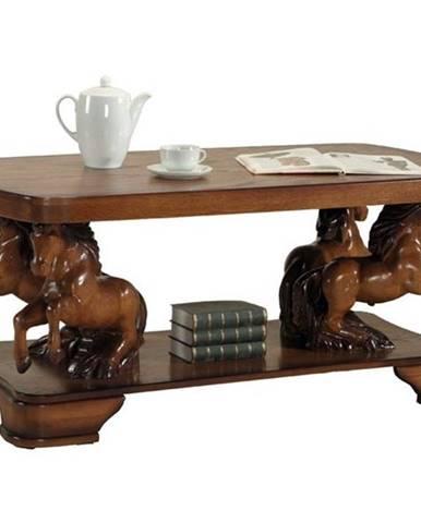 Oskar Lux konferenčný stolík drevo D7