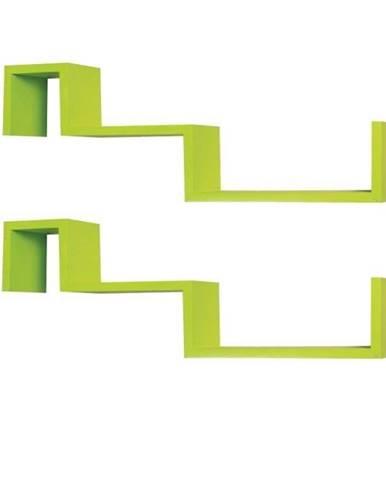 Fri New poličky (2 ks) zelená