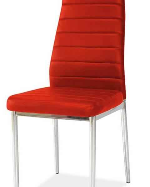 Signal H-261 jedálenská stolička červená