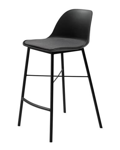 Čierna barová stolička Unique Furniture Whistler
