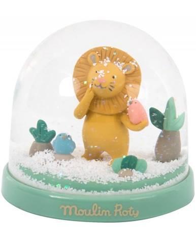 Dekorácia so snehom Moulin Roty Lvíček