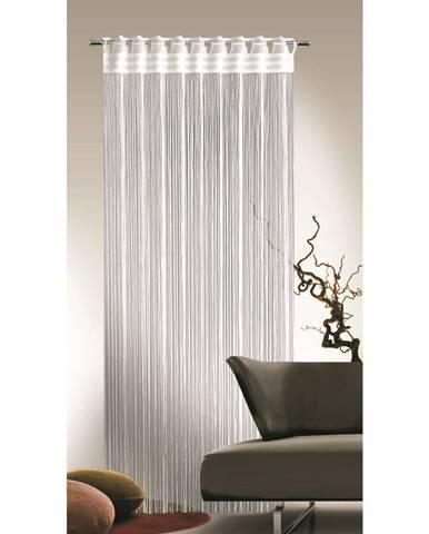 Albani Povrázková záclona Cord biela, 90 x 245 cm