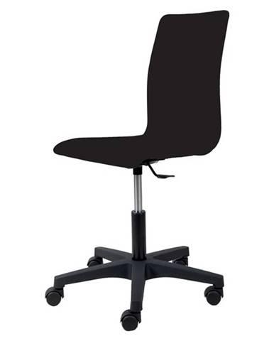 Kancelárska stolička FLEUR čierna