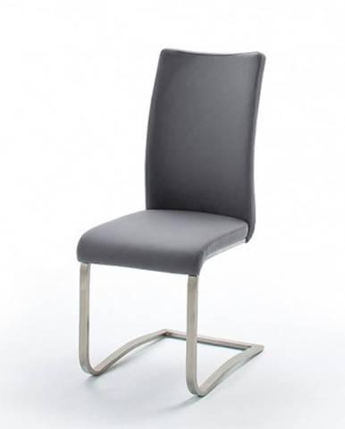 Jedálenská stolička Lucile sivá