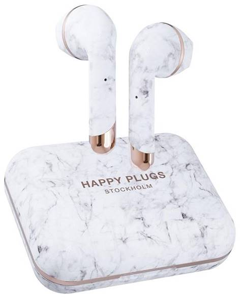 Happy Plugs Slúchadlá Happy Plugs Air 1 Plus sivá/biela