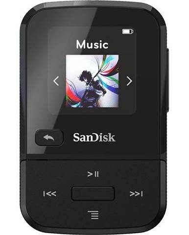 MP3 prehrávač Sandisk Clip Sport Go 32 GB čierny