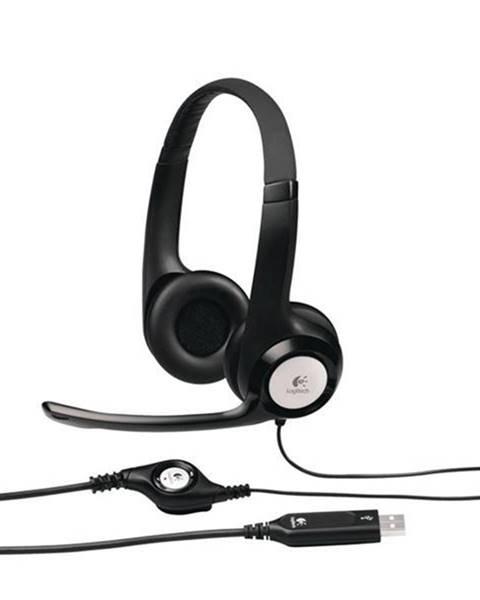 Logitech Headset  Logitech H390 USB čierny