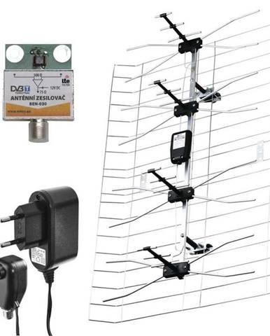 Vonkajšia anténa Emos EM-030, 0–100 km DVB-T2