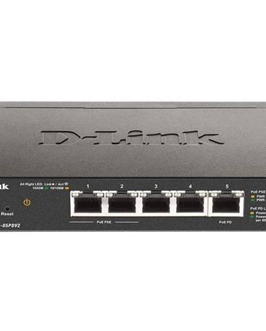 Switch D-Link DGS-1100-05PD V2 5-Port Gigabit PoE Smart
