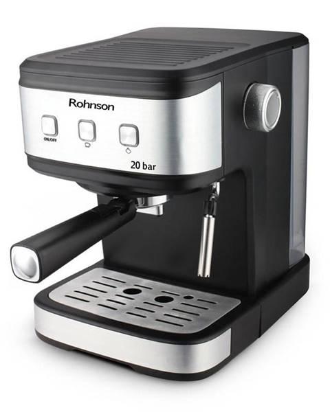 ROHNSON Espresso Rohnson R-987 čierne/strieborn
