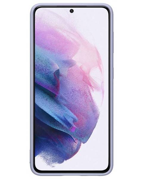 Samsung Kryt na mobil Samsung Silicone Cover na Galaxy S21 5G fialový