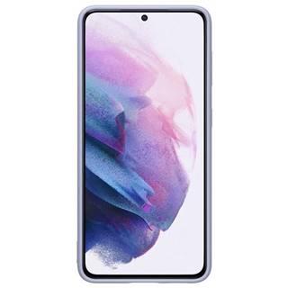 Kryt na mobil Samsung Silicone Cover na Galaxy S21 5G fialový