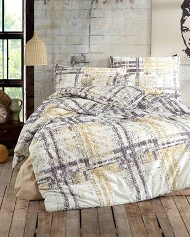 BedTex Bavlnené obliečky Mila smotanová, 140 x 200 cm, 70 x 90 cm