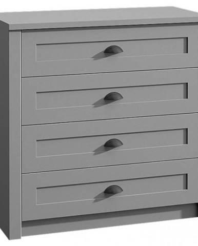 Komoda Prowansja K4 grey