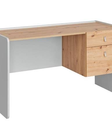 Písací stôl Vivero TYP BK perla gray/artisan