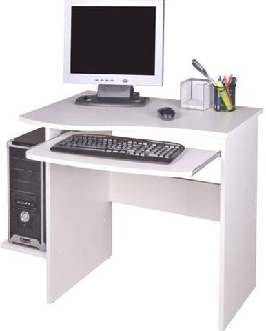 PC stôl biela MELICHAR