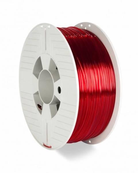Verbatim 3D filament Verbatim, PET-G, 1,75 mm, 1000 g, 55054, transp. red