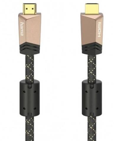 HDMI kábel Hama 205025, pozlátený, 2.0, 1,5 m