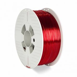 3D filament Verbatim, PET-G, 1,75 mm, 1000 g, 55054, transp. red