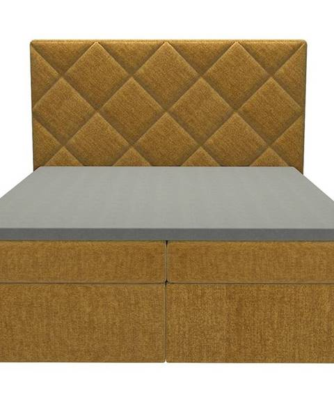 MERKURY MARKET Posteľ Reja 160x200 Monolith 48 s vrchným matracom
