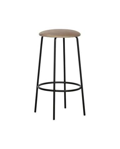 Sivá barová stolička WOOOD Mina