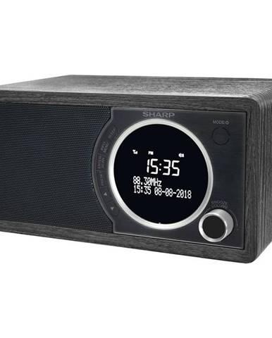 Rádioprijímač s DAB+ Sharp DR-450BK čierny