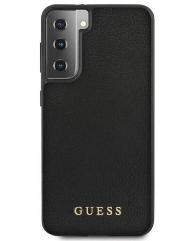 Kryt na mobil Guess Iridescent na Samsung Galaxy S21+ 5G čierny