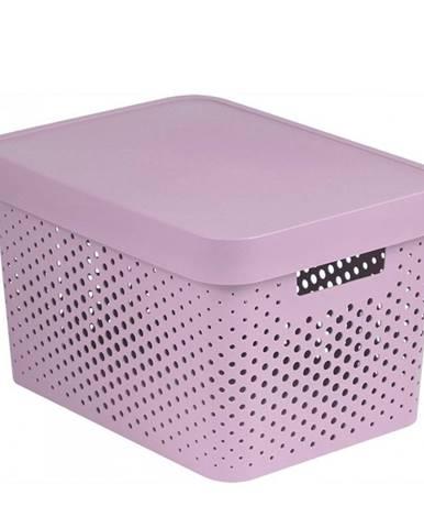 Curver úložný box Infinity 17 l, ružová