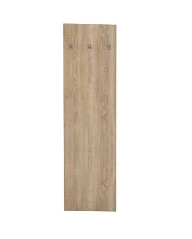 Vešiakový panel dub sonoma TEMPO ASISTENT NEW 030
