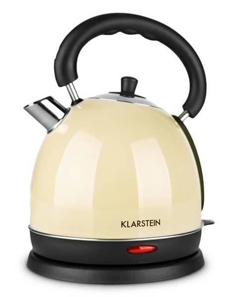 Klarstein Klarstein Teatime, krémový, 1,8 l, 2200 W, varič vody, čajník, ušľachtilá oceľ